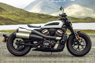 Harley-Davidson's New Sportster S is Born to Be (a Little) Wild