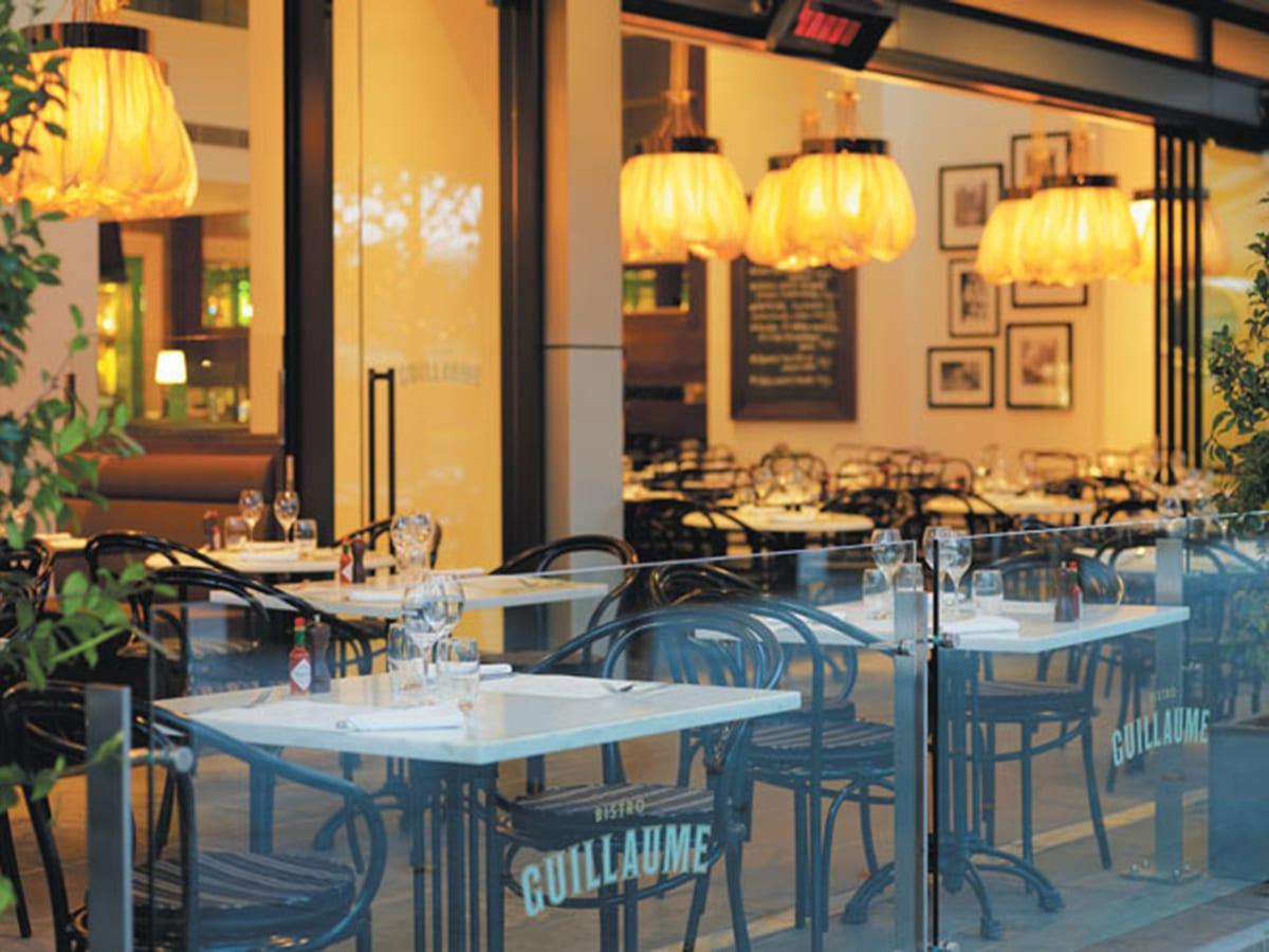 french restaurant bistro guillaume interior