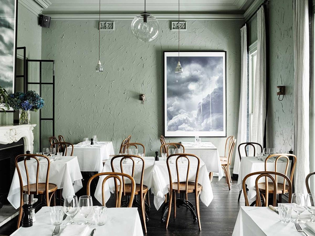 french restaurant entrecote south yarra interior
