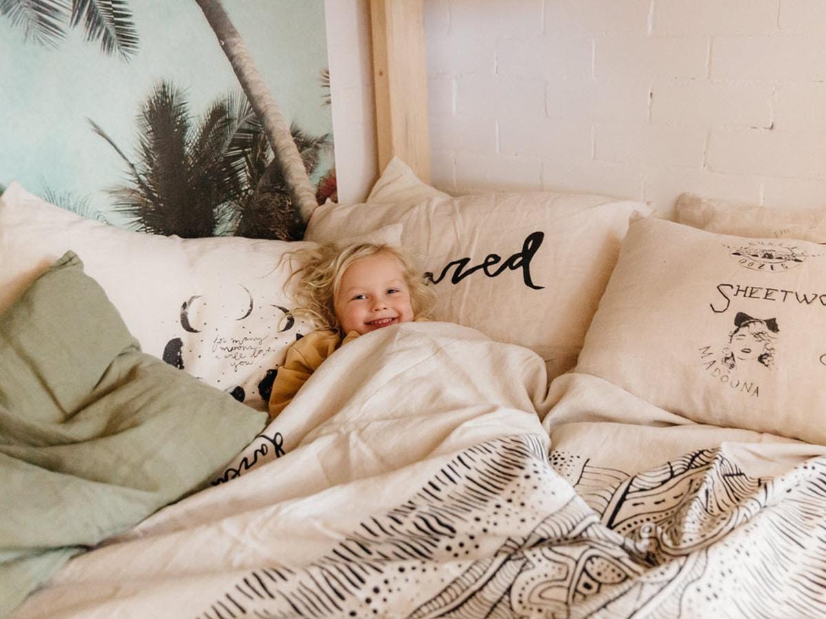 dazed but amazed bed linen