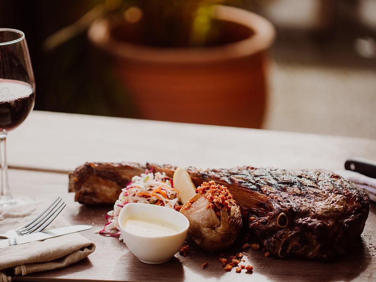 breakfast creek hotel steak