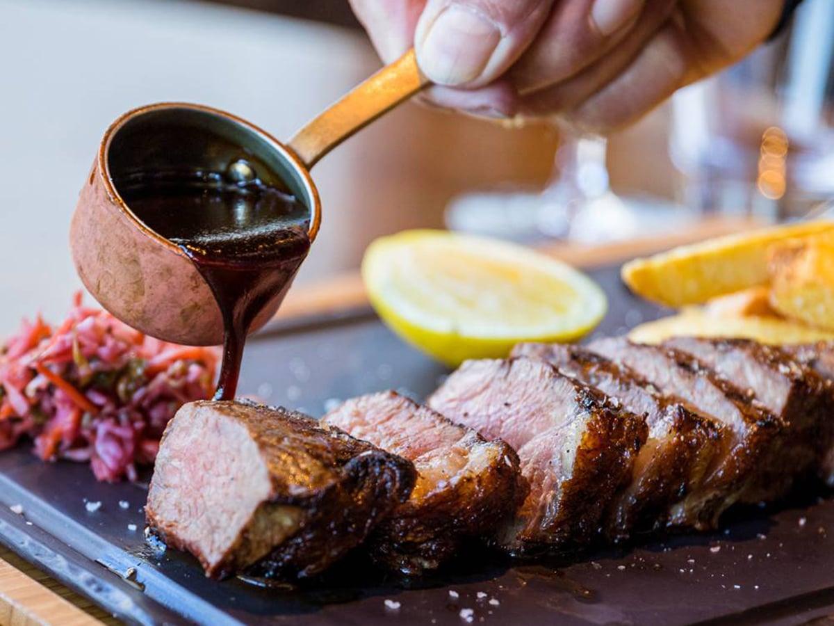 the boatshed steak