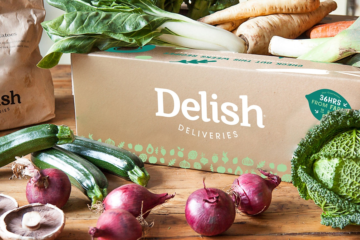 delish deliveries online grocery delivery package