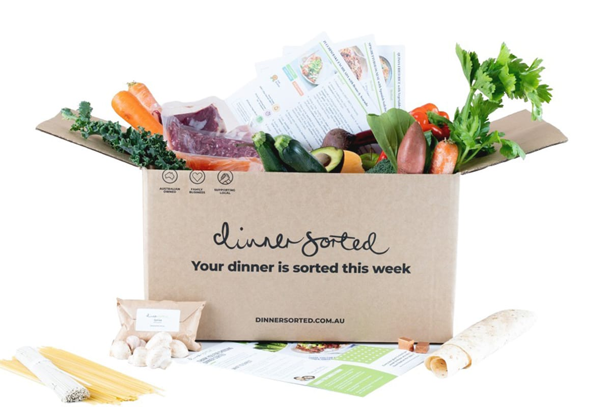 dinner sorted online grocery delivery package