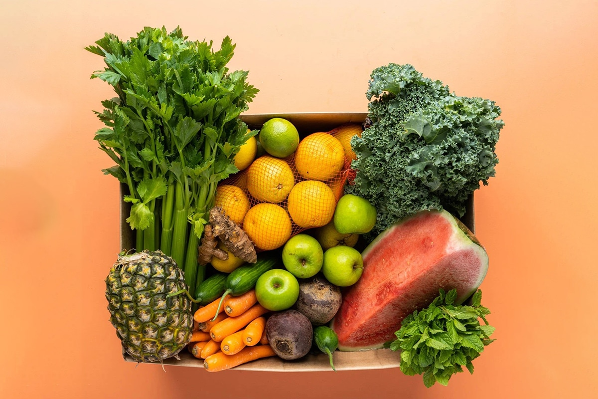 harris farm online grocery delivery package