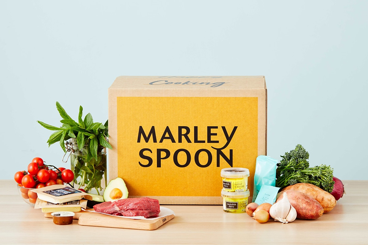 marleyspoon online grocery delivery package