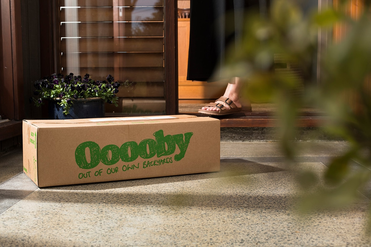 ooooby online grocery delivery package