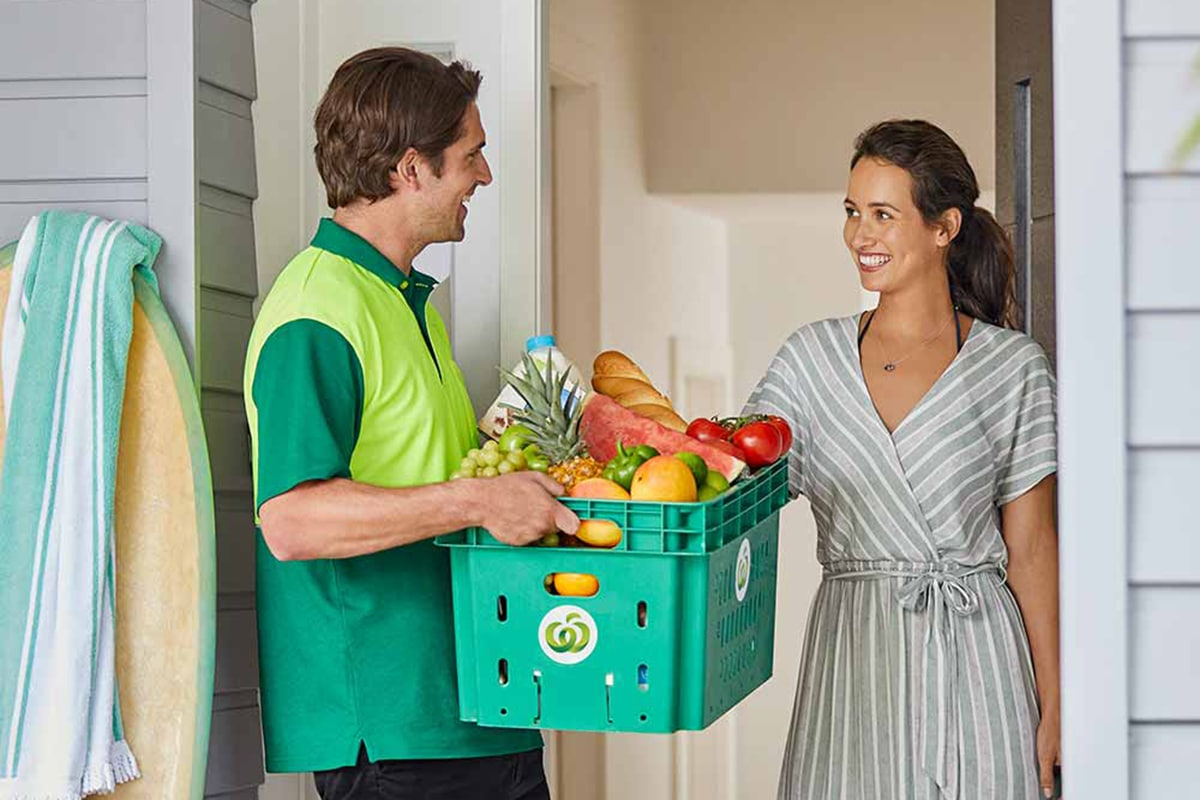 woolworths online grocery delivery service