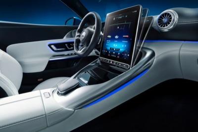 Mercedes-AMG Unveils 'Revolutionary' Hyperanalog Interior