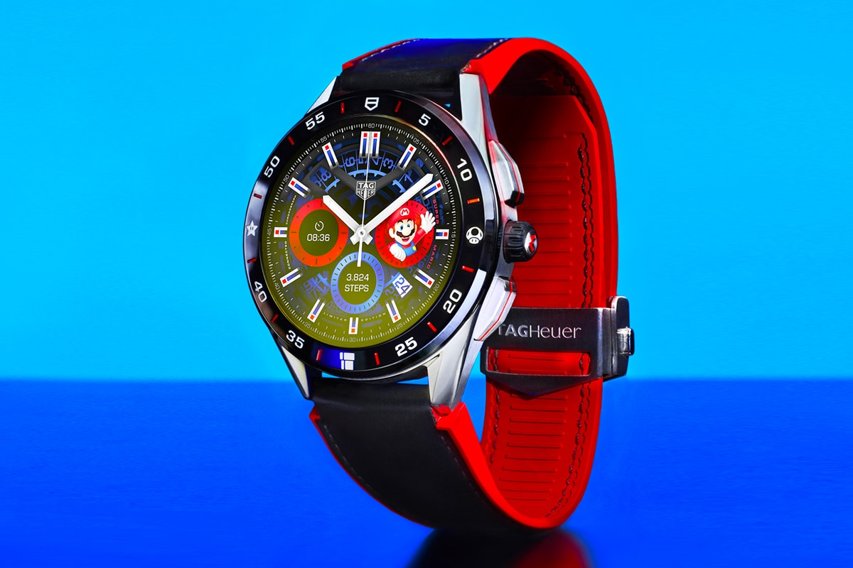 2 tag heuer connected super mario limited edition