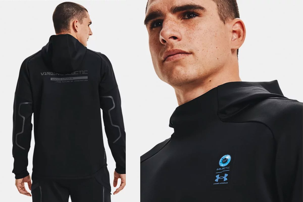 2 under armour limited edition virgin galactic capsule