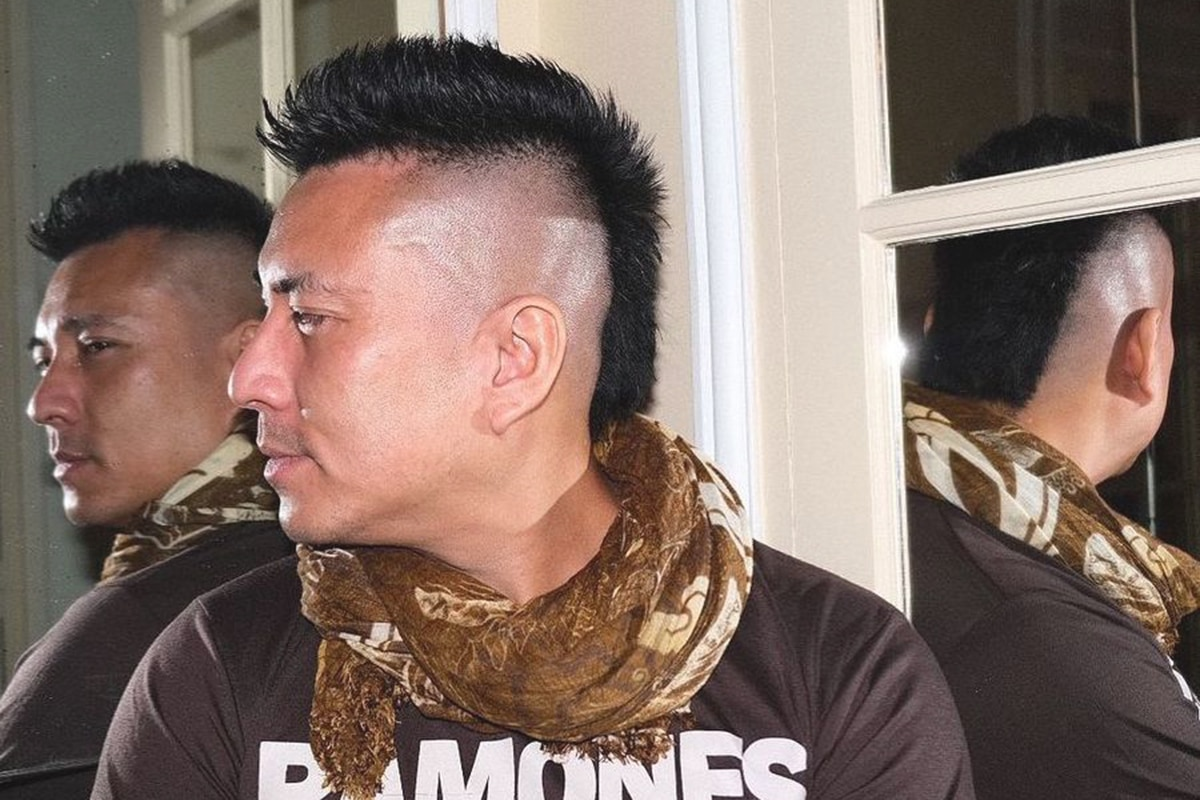 mohawk mullet hairstyle for men