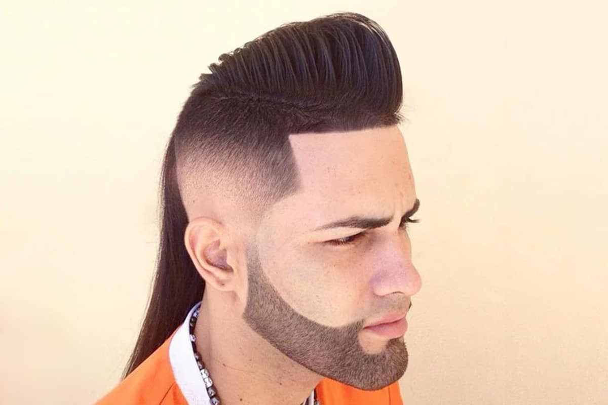 mullet fade hairstyle for men