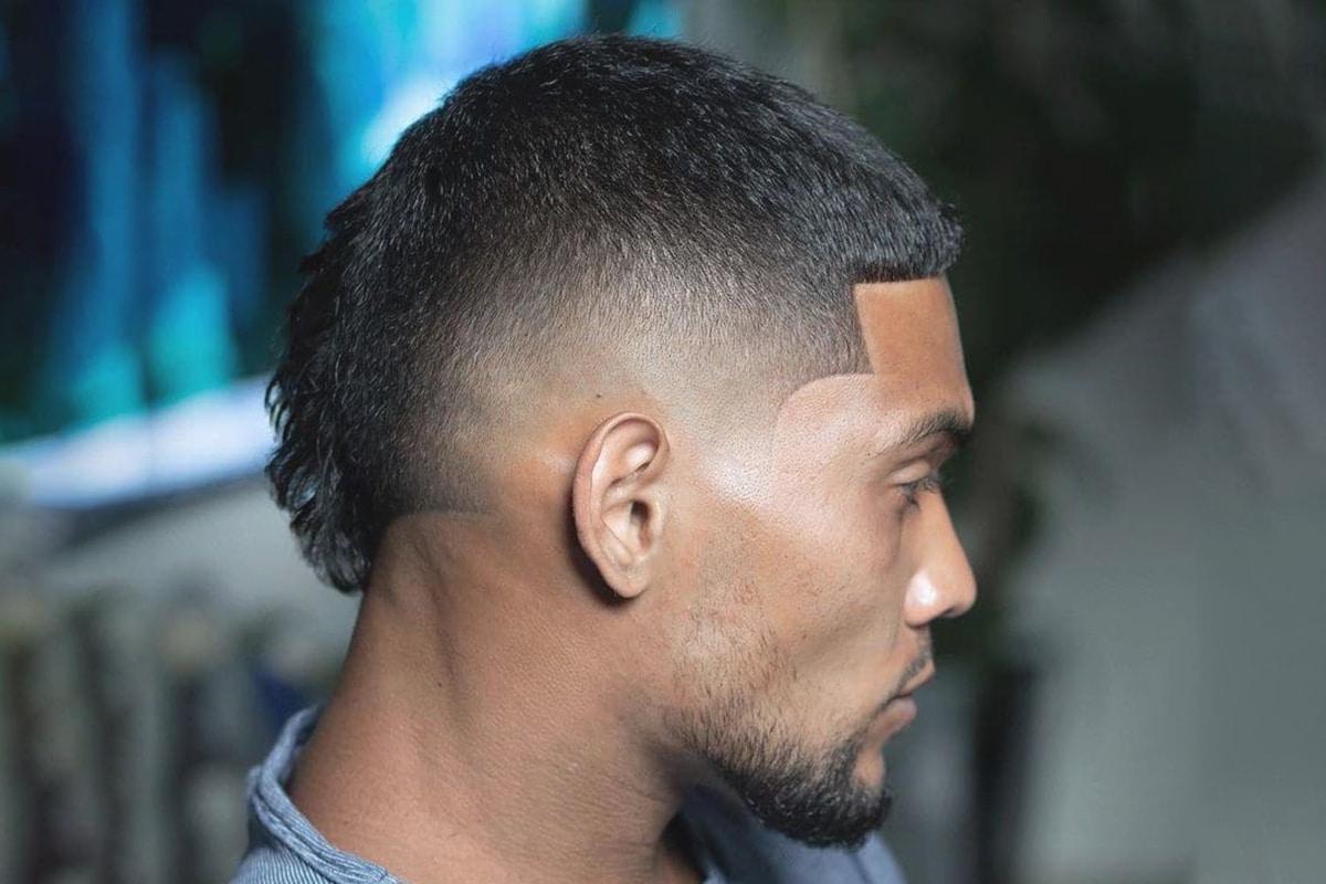 short mullet hairstyle for men