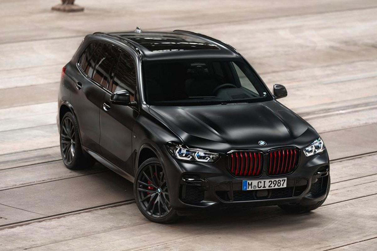 2022 bmw x5 black vermilion edition 1