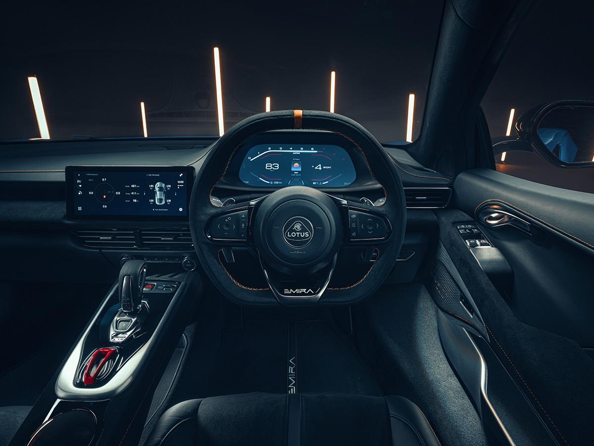 2022 lotus emira driving position