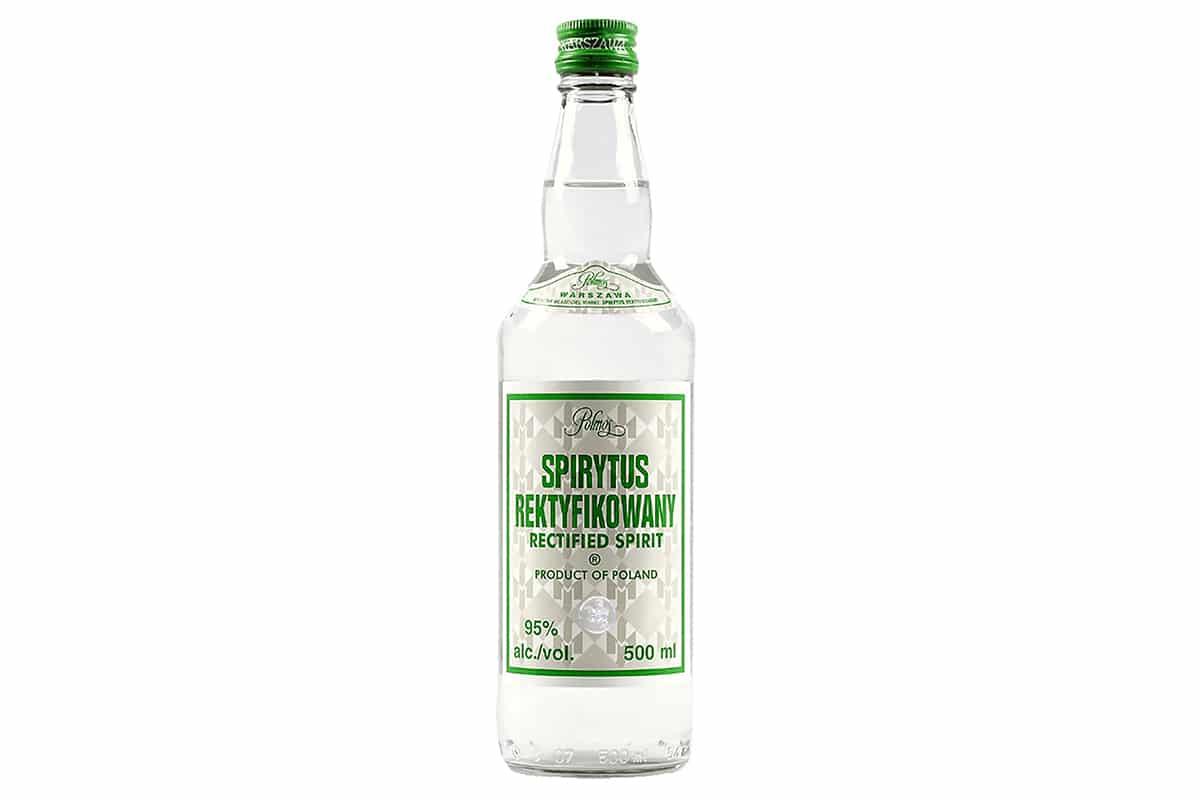 spirytus rektyfikowany vodka