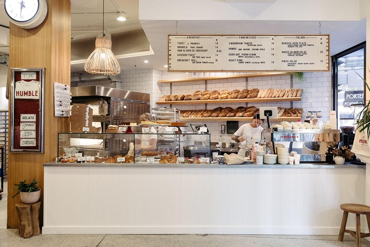 humble bakery interior