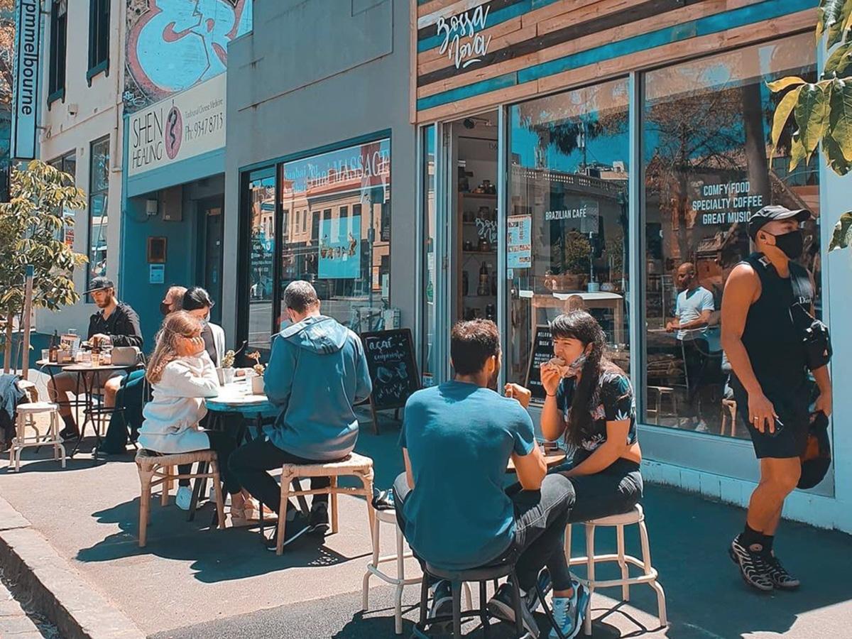 bossa nova brazilian cafe outdoors