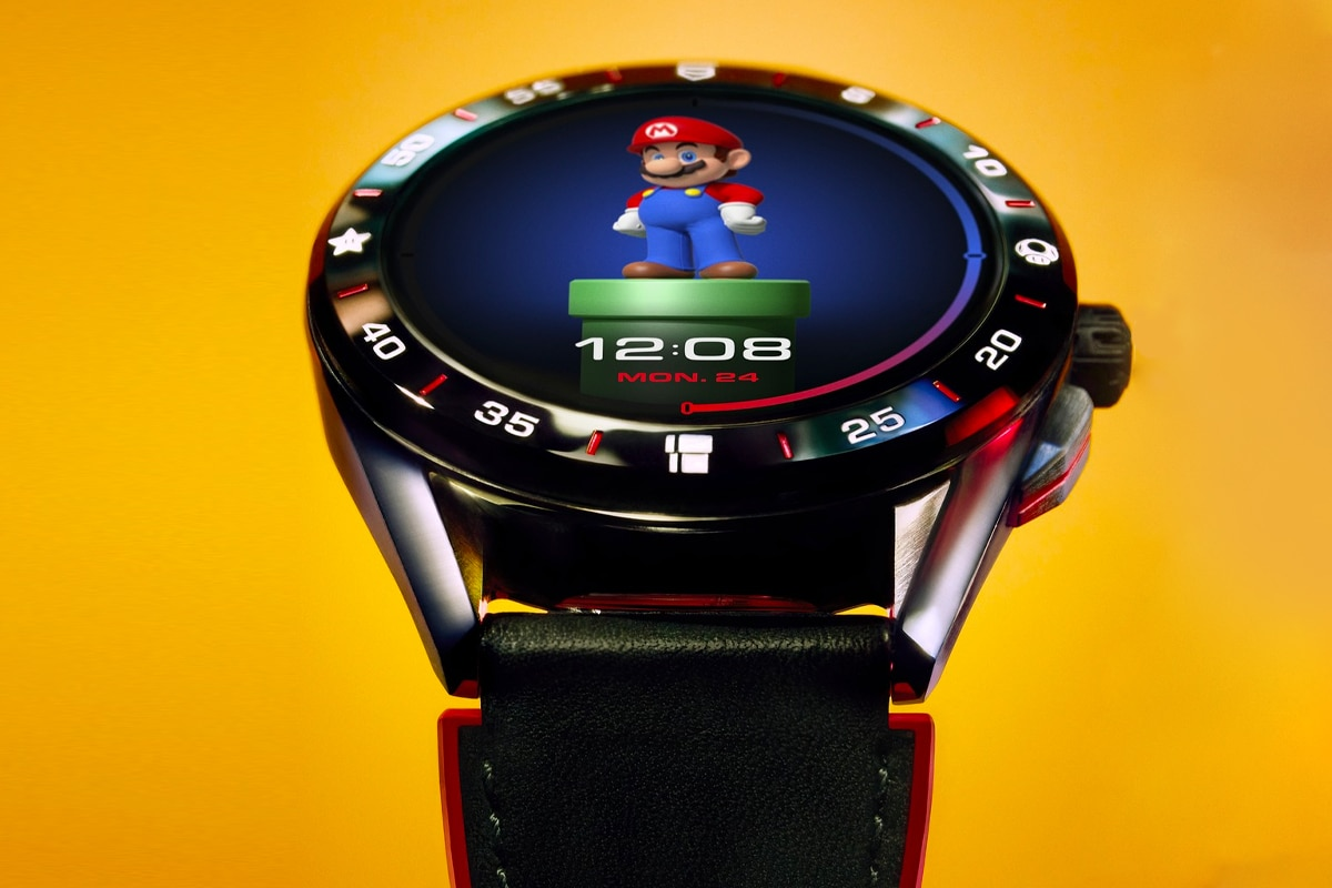 6 tag heuer connected super mario limited edition