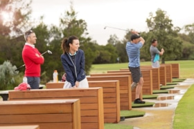 west beach parks golf driving range