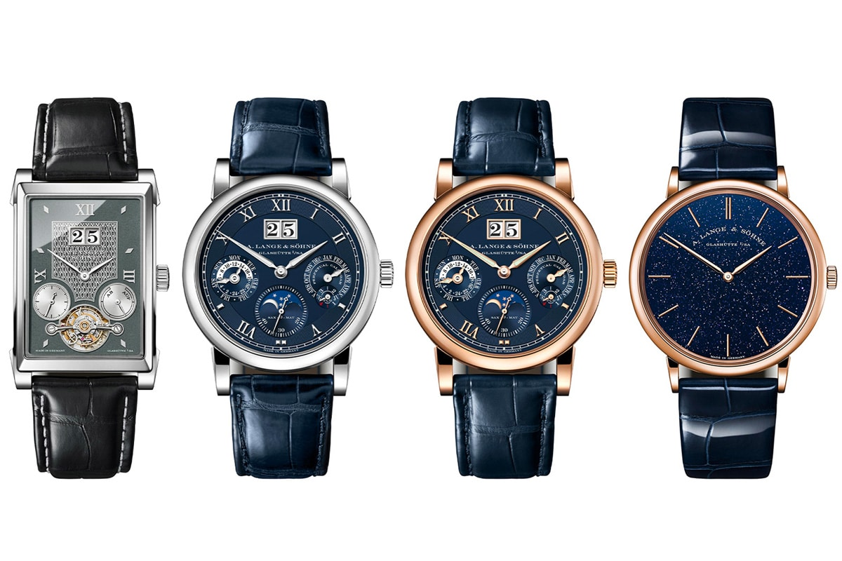 A lange söhne releases three new pieces