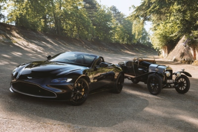 Aston Martin Marks 100 Years of the A3 with Limited-Edition Vantage Roadster