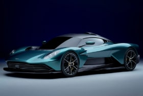 Aston martin valhalla from the front 1