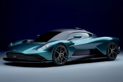 Aston Martin Valhalla is a 937HP Hybrid Stunner with a Roof Scoop