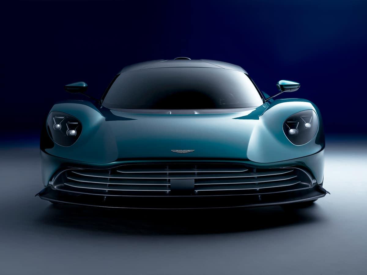 Aston martin valhalla front end