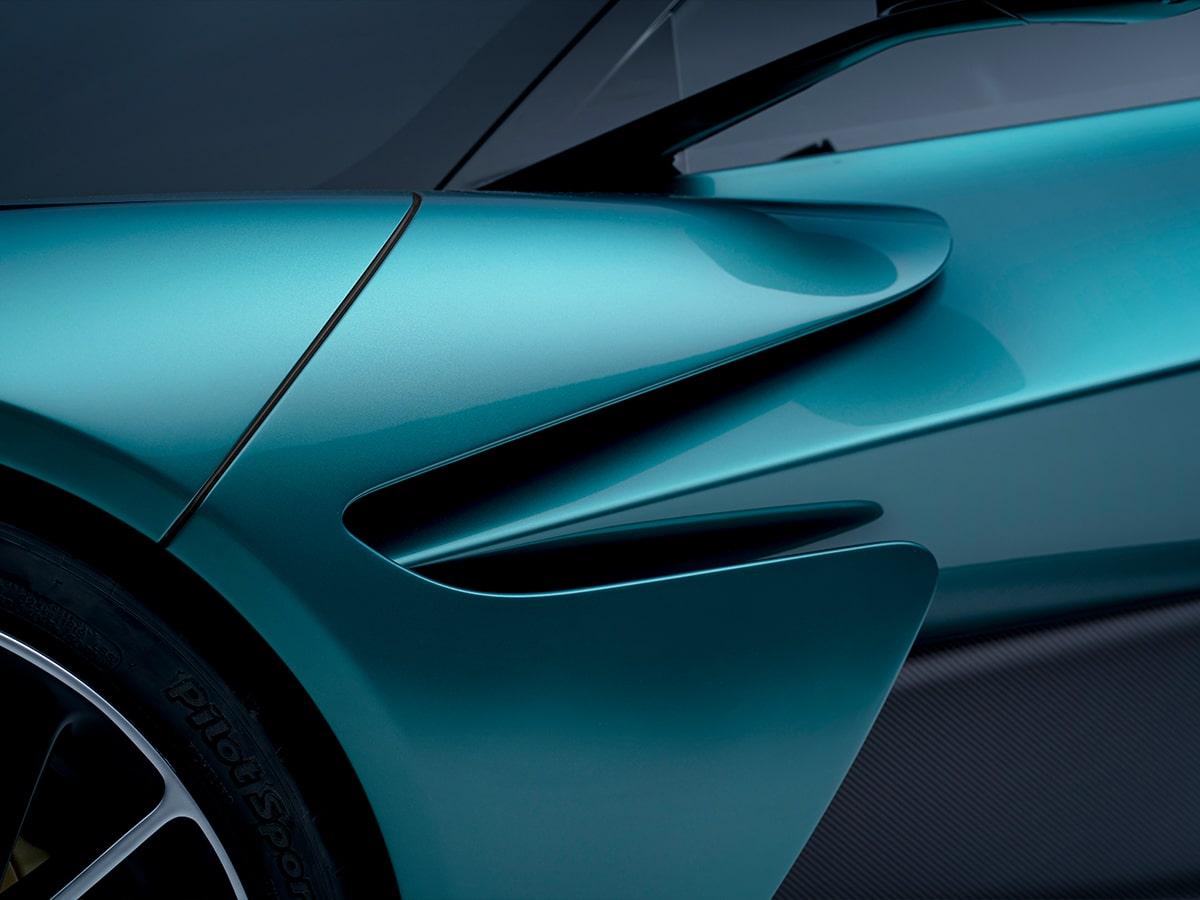 Aston martin valhalla side panel