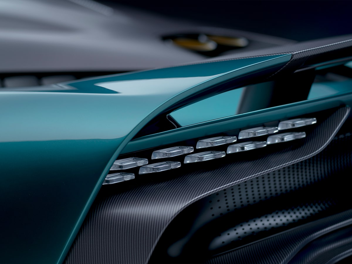 Aston martin valhalla tail lights