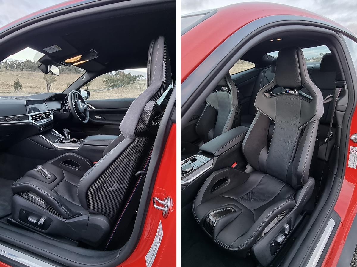 Bmw g82 m4 carbon seat