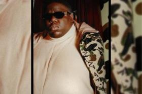 Biggie wearing bape 1