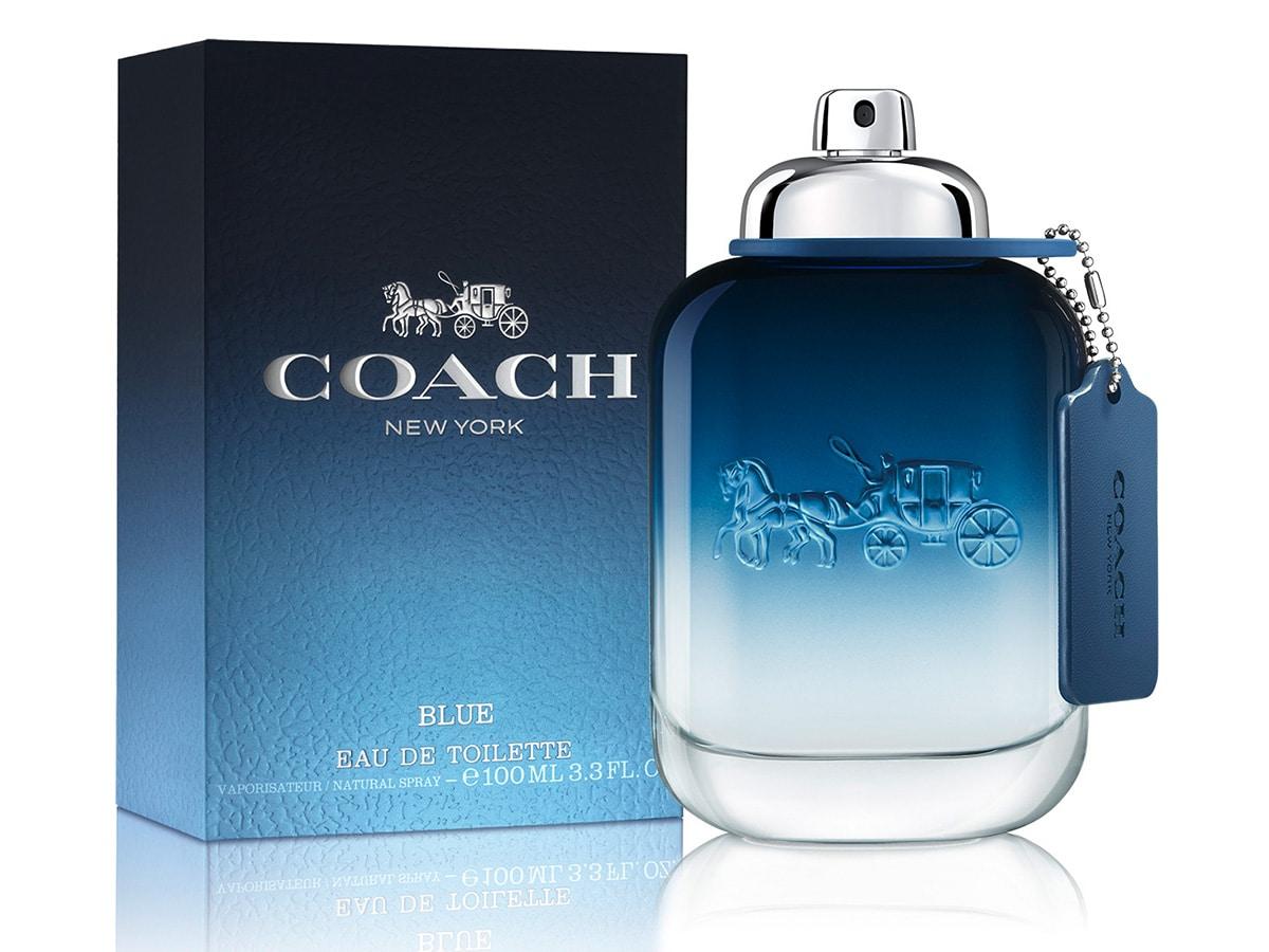 Coach man blue