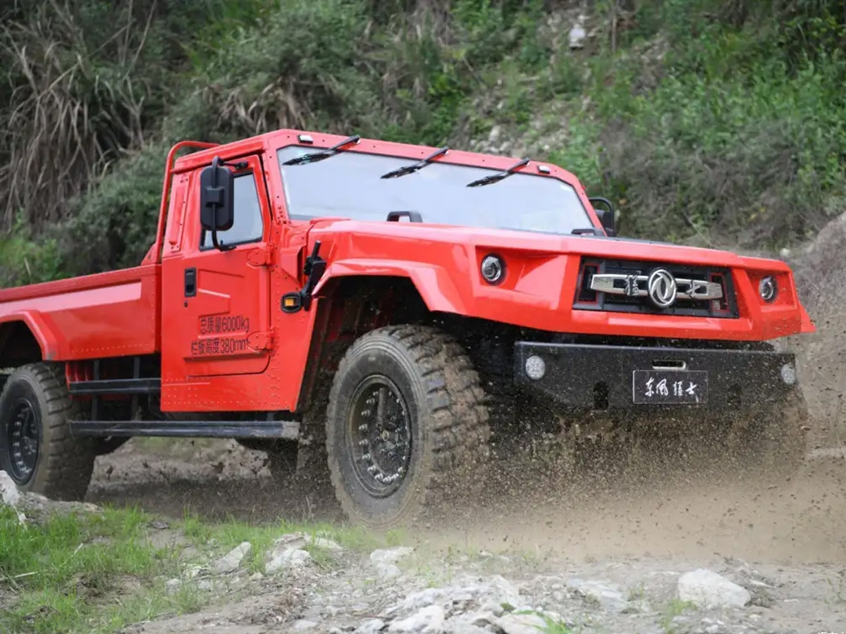 Dongfeng warrior m50 offroad