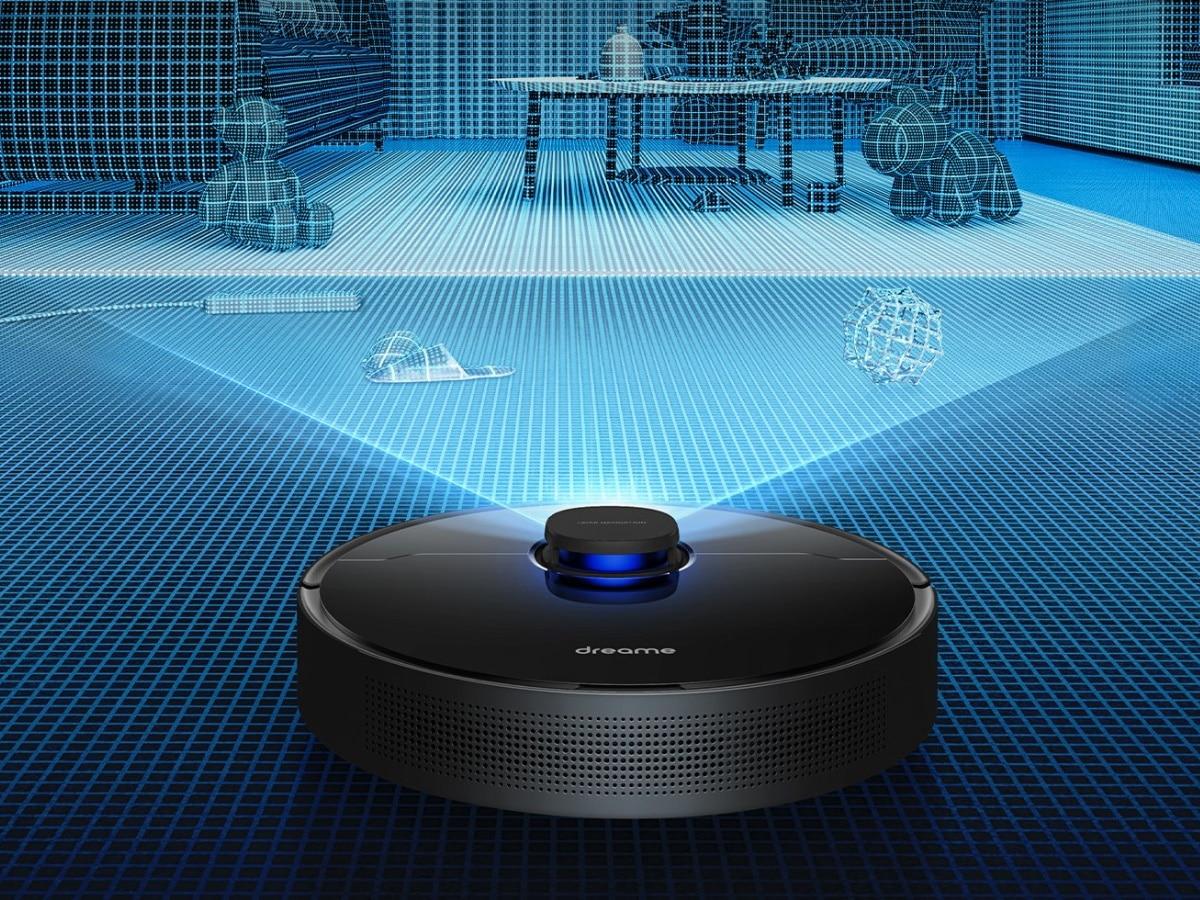 Dreame robot vacuum z10 scanning