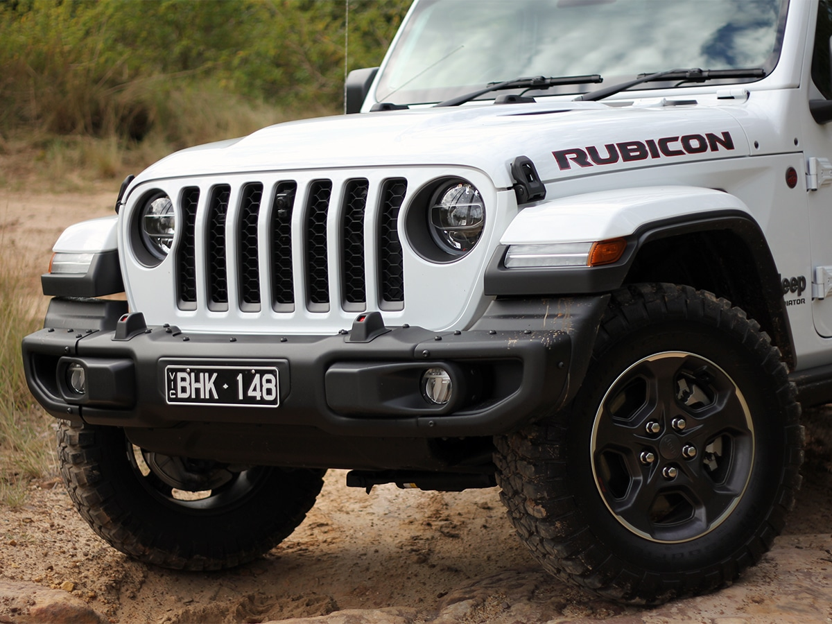 Gladiator rubicon front end