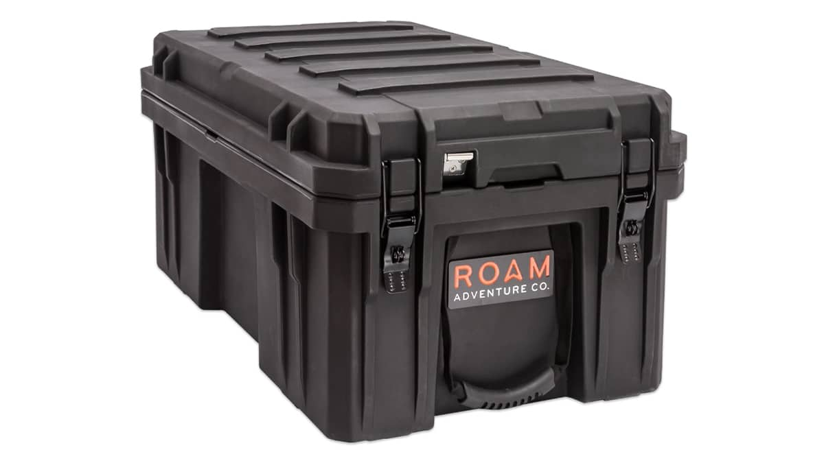 Huckberry finds roam rugged case 105l