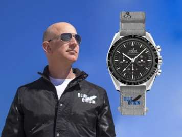 Jeff Bezos' OMEGA Speedmaster Flex is the Ultimate Lesson in Space Style
