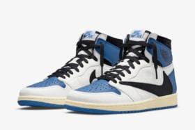 Jordan 1 high og fragment design x travis scott