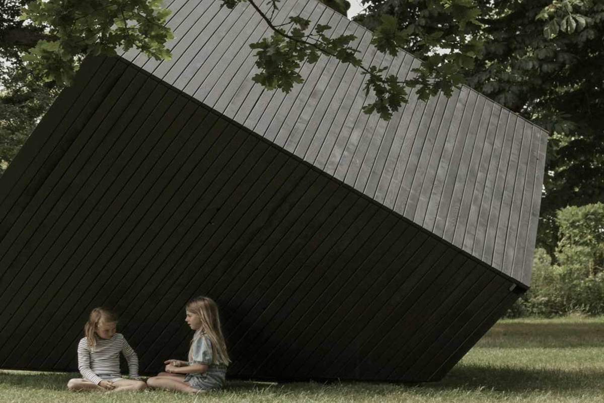 Koto x newartcentre sculpture cabin 3