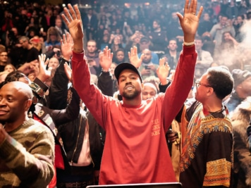 """Kanye West is Actually Living Inside a 71-000-Seat Stadium to Complete """"DONDA"""""""