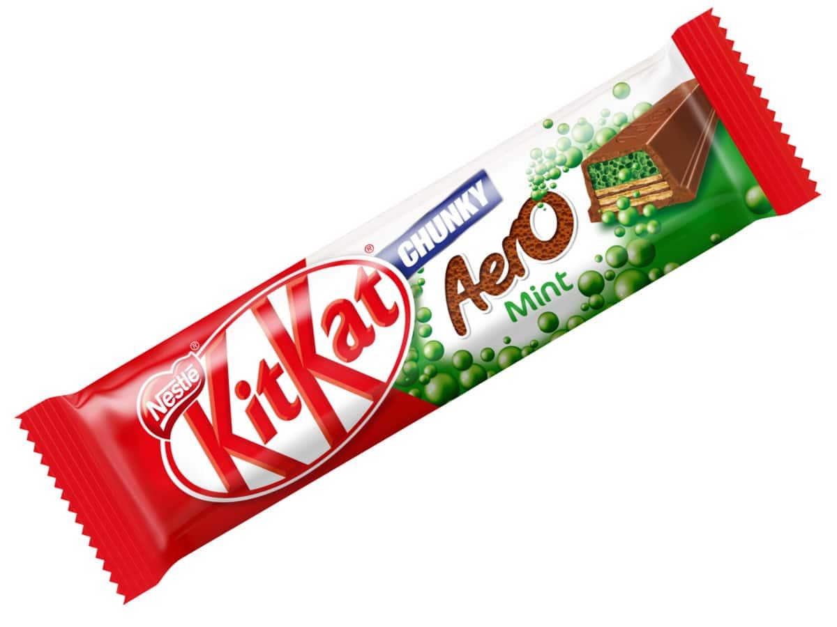 Kitkat chunky aero bar