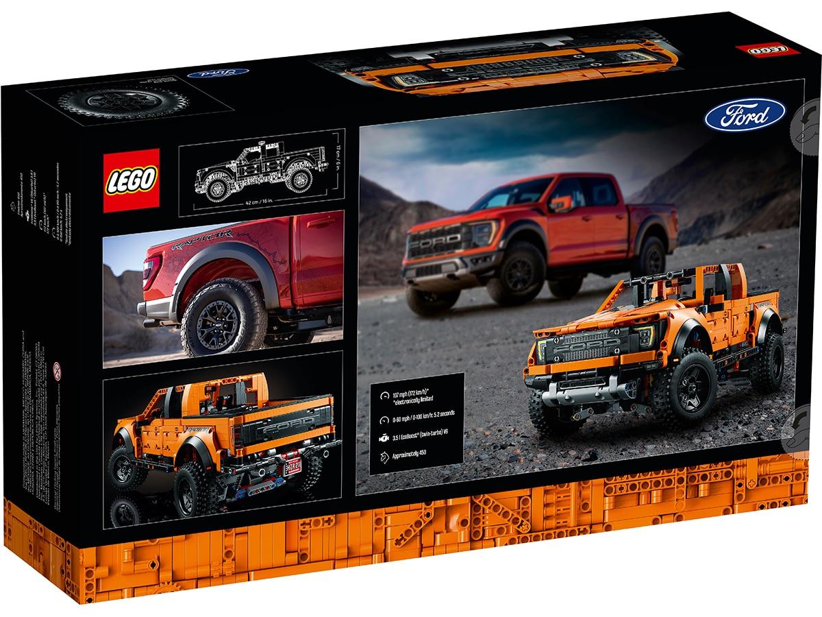 Lego technic ford f 150 7