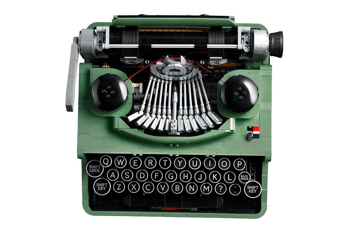 Lego typewriter 4