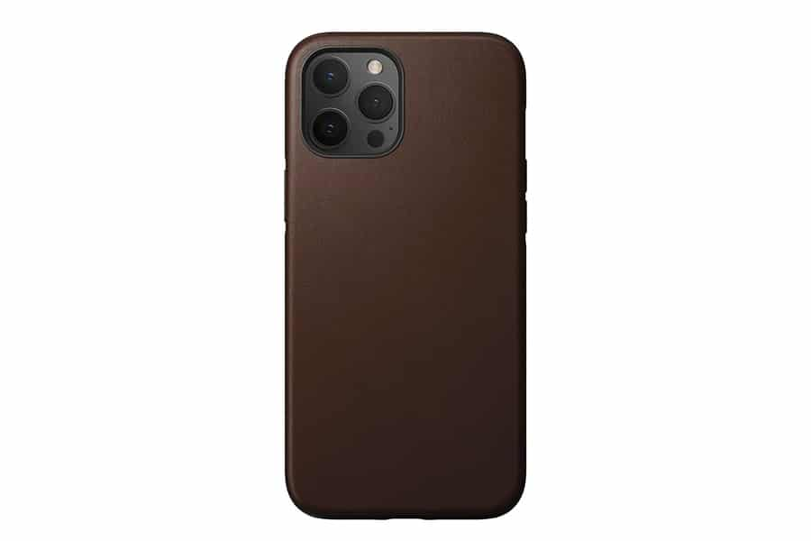 Man of many selects nomad rugged case iphone 12 pro max rustic brown