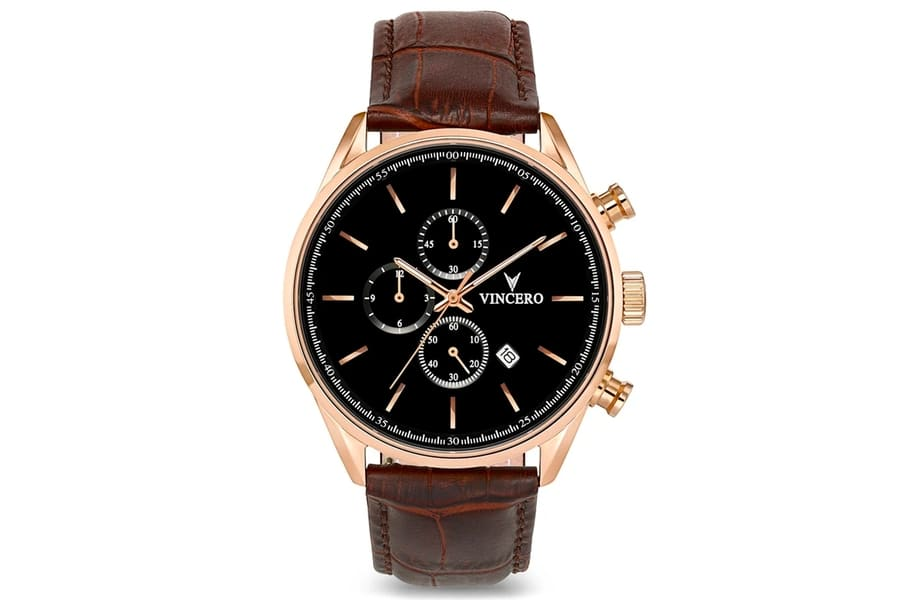 Vincero watches the chrono s rose gold