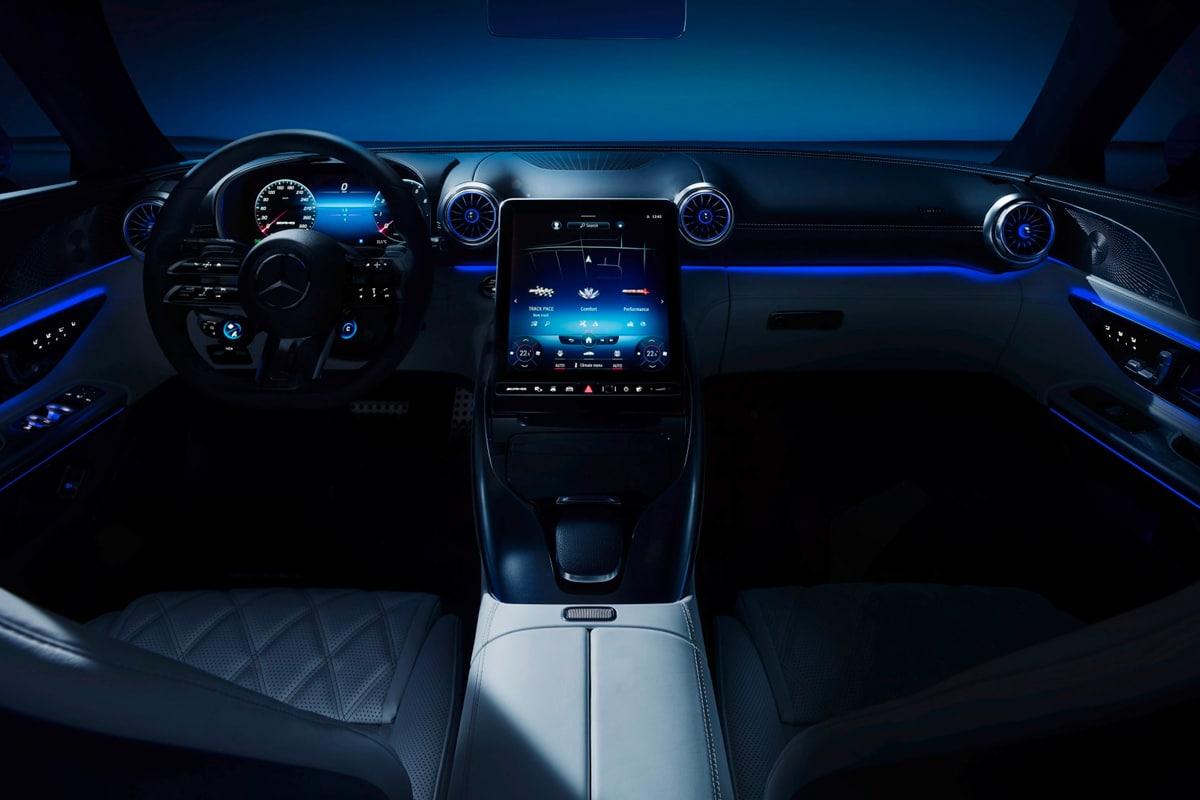 Mercedes amg hyperanalog interior