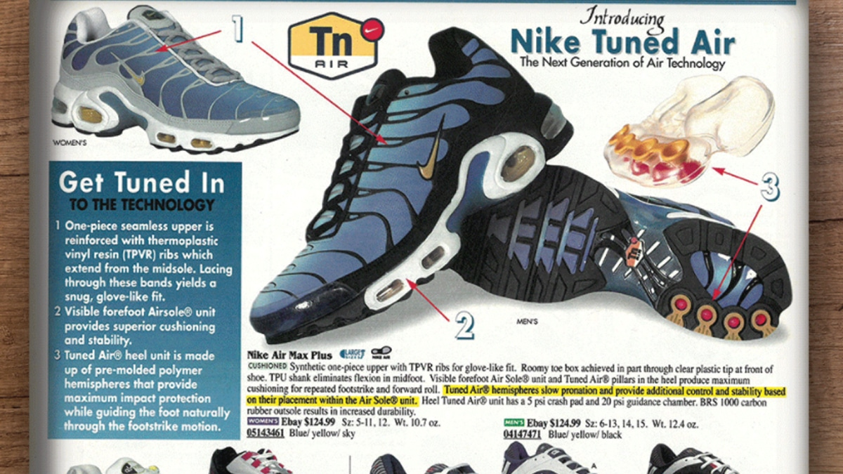 Nike tuned air 1999 magazine